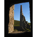tin mine cornwall chimney
