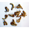 These are the unopened fronds of brake ferns - Pteridum Aquilinim, known in Chinese as 蕨菜.  A...
