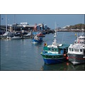 France Picardie PasdeCalais September Harbour Ships Boats