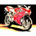 my photoshop of motorcycle