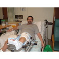 At last Pete is on the mend after vein and skin grafts and lots of pain ,Hopefully will not be lo...