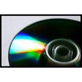 compact disc cd reflection