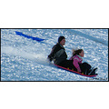 stlouis missouri us usa landscape snow hill feefee sledding action bh 2007