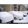 stlouis missouri us usa winter snow car Toyota 10in 25cm yay 012011
