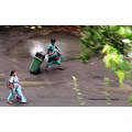street photograph bandra east conservancy worker garbage collection mumbai india