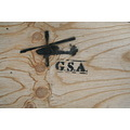 stencil graffiti helicopter wood