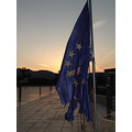 European Flag sunset
