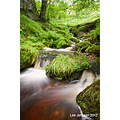 waterfall rocks water woods lumb spout pendle trawden lancashire