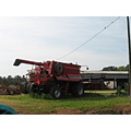 various pieces of farm equipment
