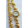 Dolpin Gold watch crimeajewel