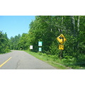 upper peninsula michigan forest highway