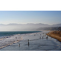 usa summer sea beach california santa monica landscape scenery