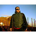 portrait man mexico sunrise mountain glasses