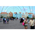 zuiderdam cruise willemstad curacao buildings bridge people view