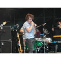 Olympic torch relay evening celebration - friendly fires singer