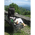 This is my sister in Tagaytay City.