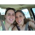 Rachel and I on the way to Galveston last summer :) SO fun!