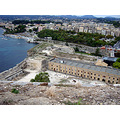 Greece Corfu Korfoe Kerkyra fortress fort view uitzicht
