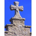 cross stone skoenlaper religious simple
