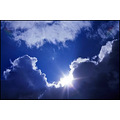 blue sky heaven clous clouds sun sunshine up lofty cumulus shining