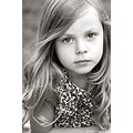 portrait child children kid girl blackwhite