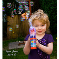 granddaughter child kid friend family bubbles