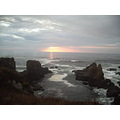 sunset pacific ocean Pomo Bluffs Fort Bragg CA