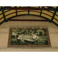 Holland Haarlem Railwaystation Entrance Hall tile painting art