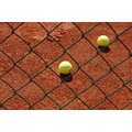 Net balls tennis yellow