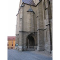 Sibiu Evangelic Church Europe Romania Architecture Transilvania Old