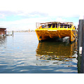 boat yellow cat wharf perth littleollie
