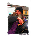 Bodhrn Busker Puck Fair Killorglin Kerry Ireland Peter OSullivan