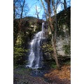 Peak District Derbyshire Hidden Waterfall Eyam
