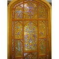 Colorful handcraft Window isfahan Iran