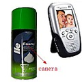 Wireless Shaving cream Hidden Camera