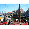 netherlands spakenburg water harbour boat nethx spakx harbn waten boatn