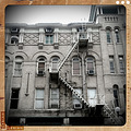 fire escape building San Antonio Texas colgdrew