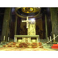 cross altar vic osona barcelona catedral cathedral church iglesia esglesia