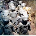 Teddy-Cotta (Terra-cotta) Warriors. The Teddy Bear Museum.