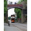 england crich vehicles trams architecture bridges