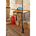 British UK Phonebox Oxford Red Streetscene