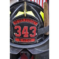 tribute 911 wtc memorial groundzero fireman helmet