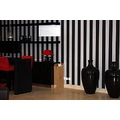 furniture modern room black red