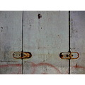 hinge rust corrosion paint color decay alley