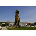 One of the worlds largest dinosaurs.  There is a little town in southern alberta that seems to be...