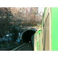 train railway tunel Prague Bohemia
