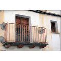 spain landscape village town house detail balcony
