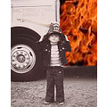 This was a scanned photo of my little brother, circa 1974; very poor condition. I eliminated the ...