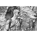 Men Man Gay Pride GayPride Spain Madrid Angel Shades Blackandwhite BW
