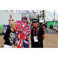 me london 2012 smile british fan olympic park police women